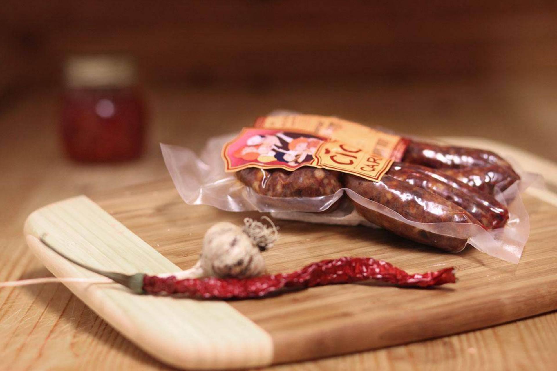 Salsiccia Stagionata di Fegato Suino 450 gr
