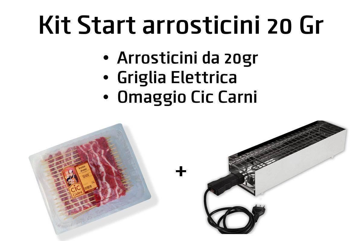 Kit Start 20 Gr griglia elettrica